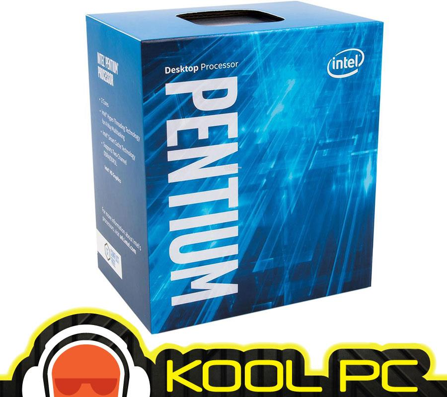 * INTEL PENTIUM G4560 3.5 GHz |  2 Core 4 Thread
