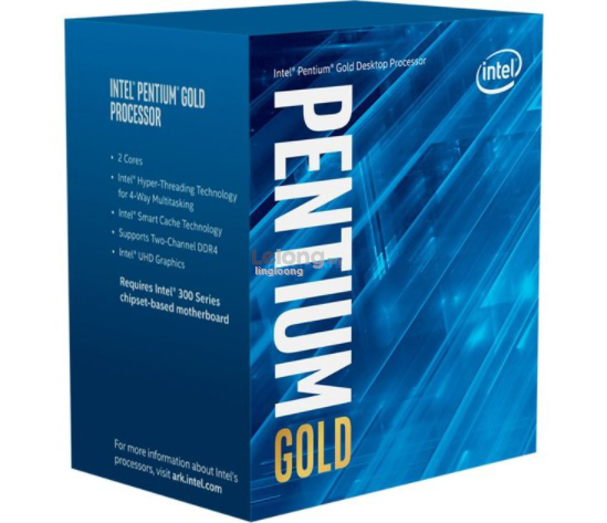 # Intel Pentium Gold G6400 Dual Core Comet Lake Desktop CPU #