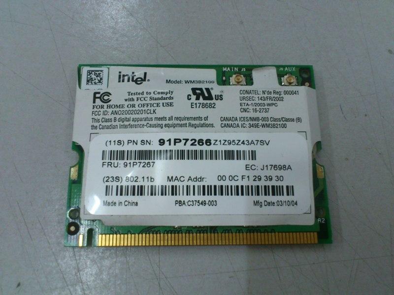 INTEL PRO 2100 3B MINI PCI WINDOWS 7 X64 DRIVER