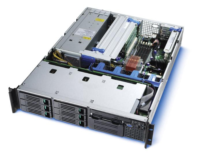 Intel server 2U rack sr2300