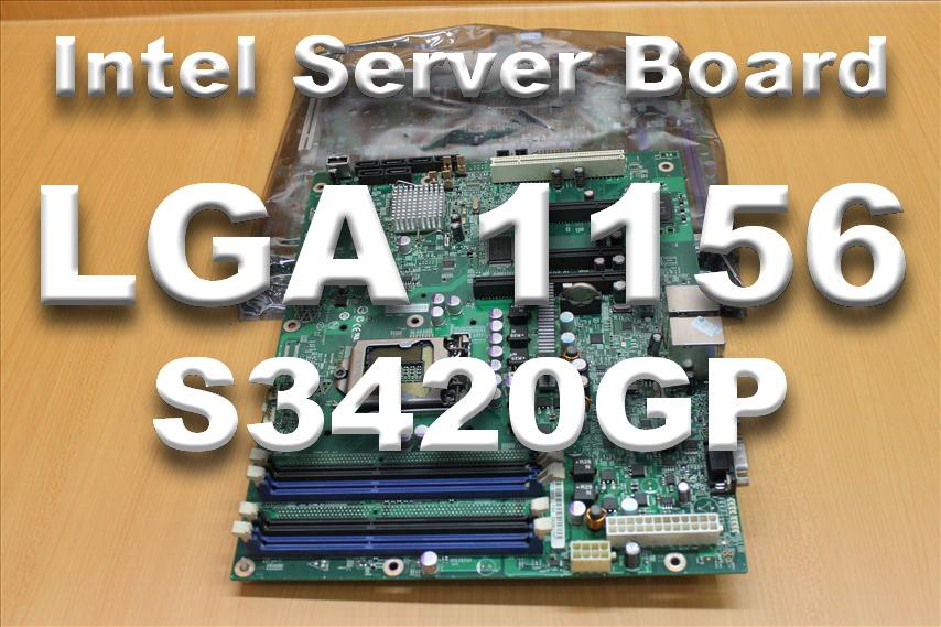 Intel Server Board S3420GP SOCKET LGA1156 mainboard