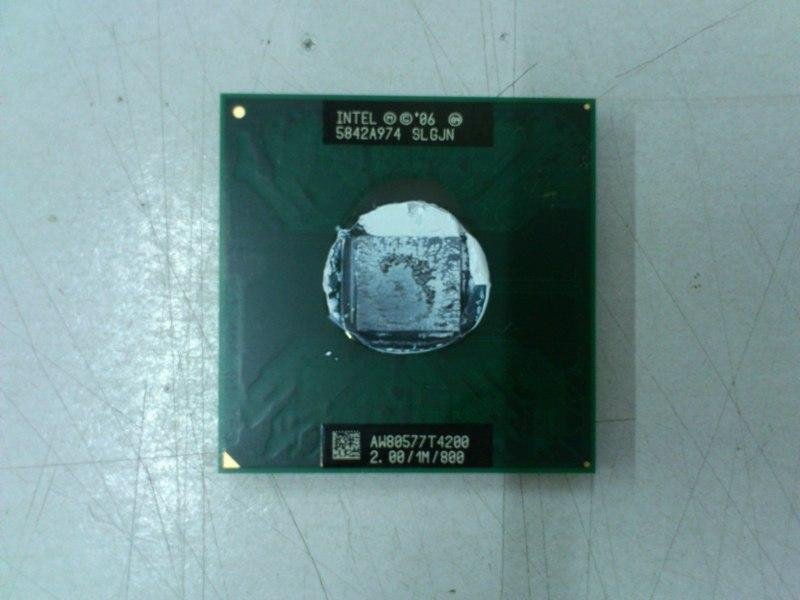 Intel T4200 2.0Ghz Core Duo Processor for Notebook 170613