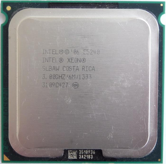 Intel Xeon 5240 Processor 3.00GHz 6M 1333MHZ FSB Socket 771