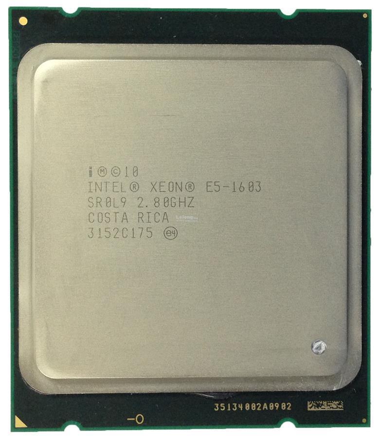 Intel Xeon CPU E5 1603 2 80GHz processor 4-Core 10M LGA2011 SR0L9