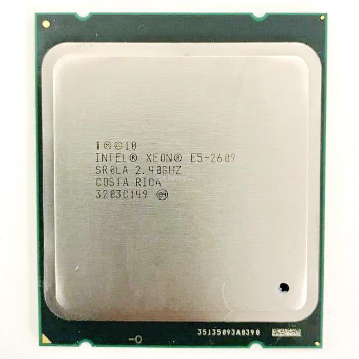 INTEL XEON E5-2609 PROCESSOR (2.40GHZ,10MB,4 CORE,1066MHZ,80W)