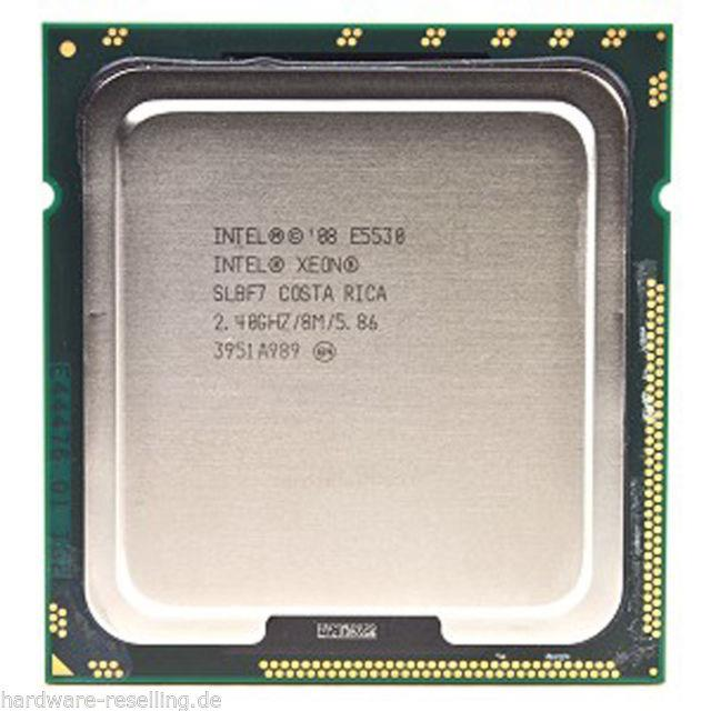 Intel Xeon E5530 Processor 4core 2.40GHz 8M 5.86GT/s socket 1366 CPU