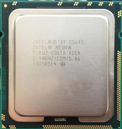 Intel Xeon E5645 Processor 6core 2.40GHz 12M 5.86GT/s socket 1366 CPU