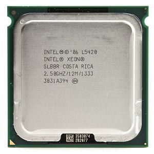 Intel Xeon L5420 Processor 2.50GHz 12M 1333MHZ FSB Socket 771