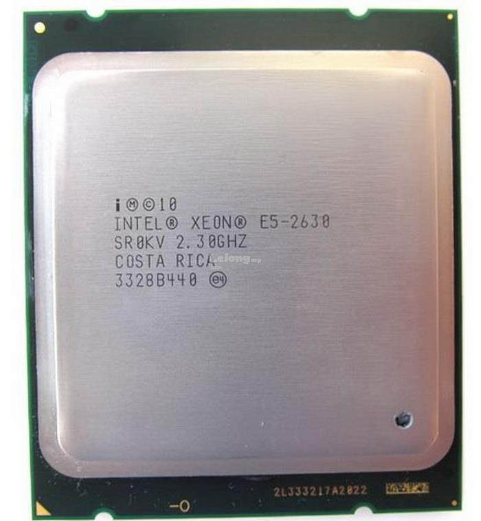Intel Xeon Processor CPU E5-2630 15M Cache, 2.30 GHz, 7.20GT/s LGA2011