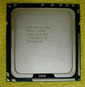 Intel Xeon Processor E5540 ,4 CORE , 8M Cache, 2.53 GHz, 5.86 GT/s