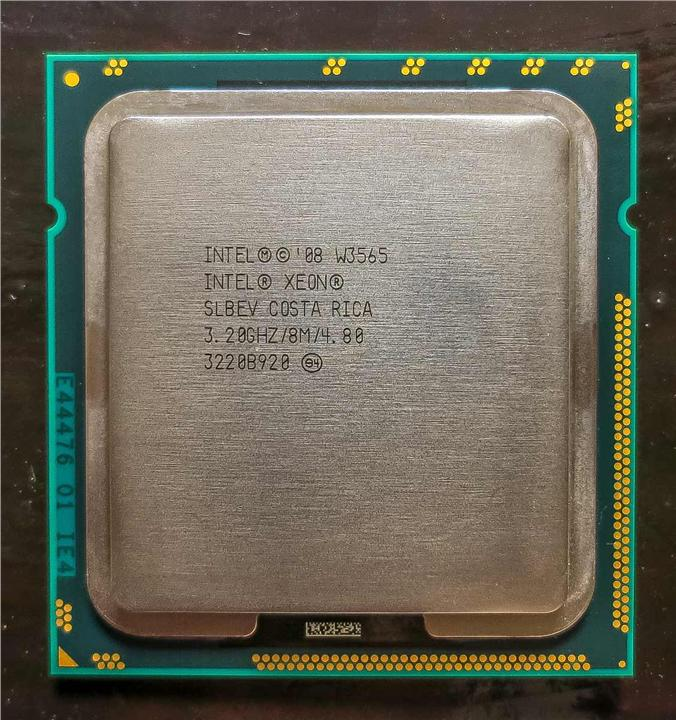 Intel Xeon Processor W3565 ,4 core ,8M Cache, 3.20 GHz, 4.80 GT/s