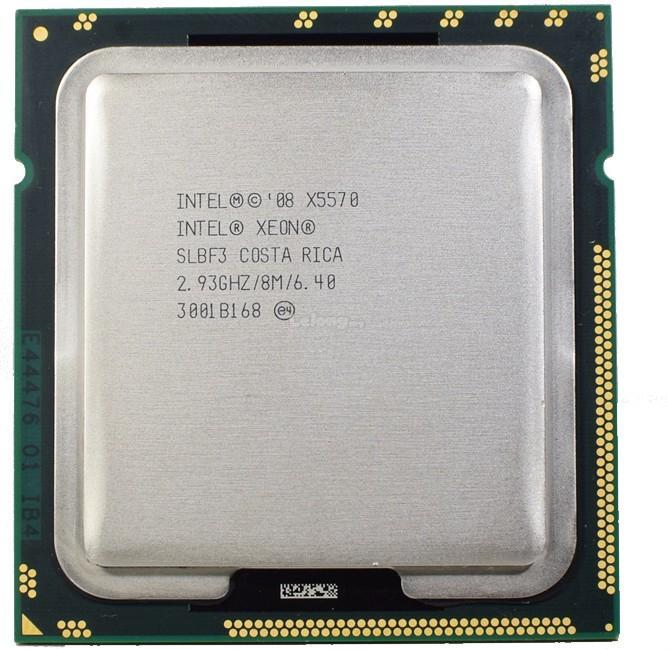 Intel Xeon Processor X5570  (QUAD CORE 8M Cache, 2.93 GHz,6.40 GT/s)
