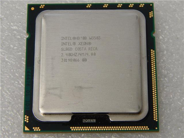 Intel Xeon W3503 Processor 2Cores 2.4GHz  4M 4.8GTs LGA1366 CPU