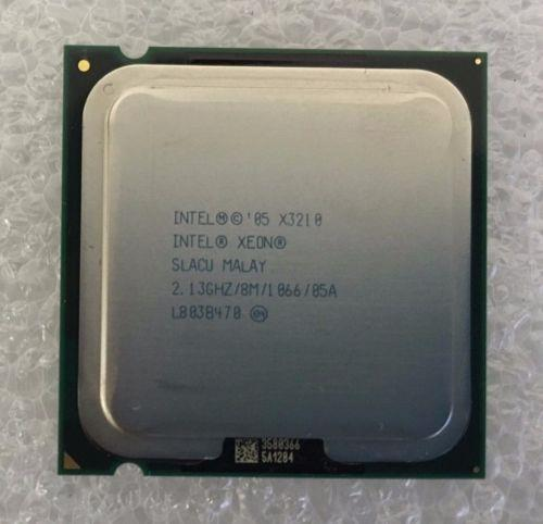 Intel Xeon X3210 2.13 GHz Quad-Core SLACU 1066 FSB CPU Processor