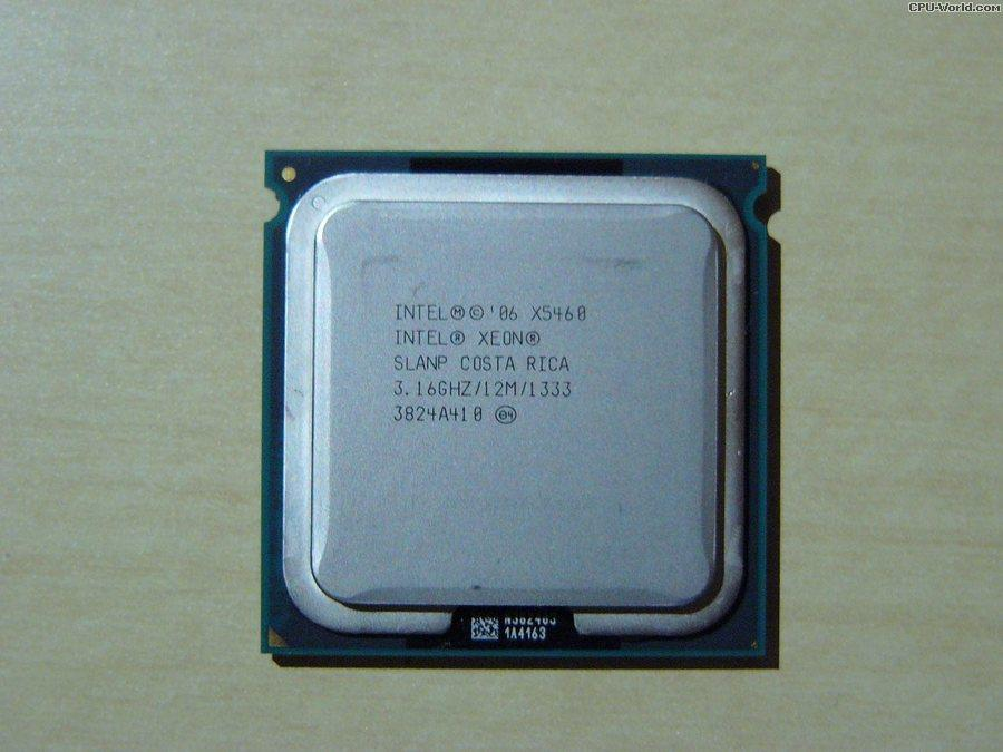 Intel Xeon X5460 3 16ghz hard modded(performance like Q9650)