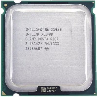 Intel Xeon X5460 Quad Core CPU Processor 3.16GHz 12M 1333 SLANP