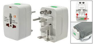 International Travel All-in-one Plug Adapter