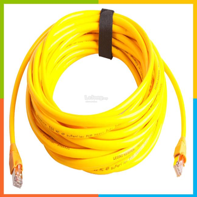 Internet network lan RJ45 ethernet cable Cat6 15meter
