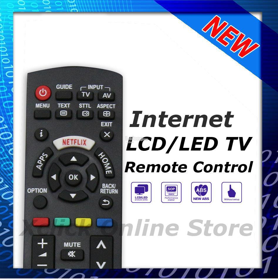 Internet / Smart LED Remote- Compatible for TV Panasonic