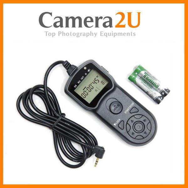 intervalometer for Sony Alpha A900 A37 A33 A35 A37 A55 A65 a77