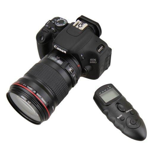 Intervalometer Timer Remote Control for Nikon D300s D300 D700 D4 D3 D2