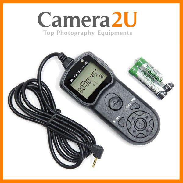 Intervalometer Timer Remote Shutter for Canon EOS 760D 750D 700D 650D