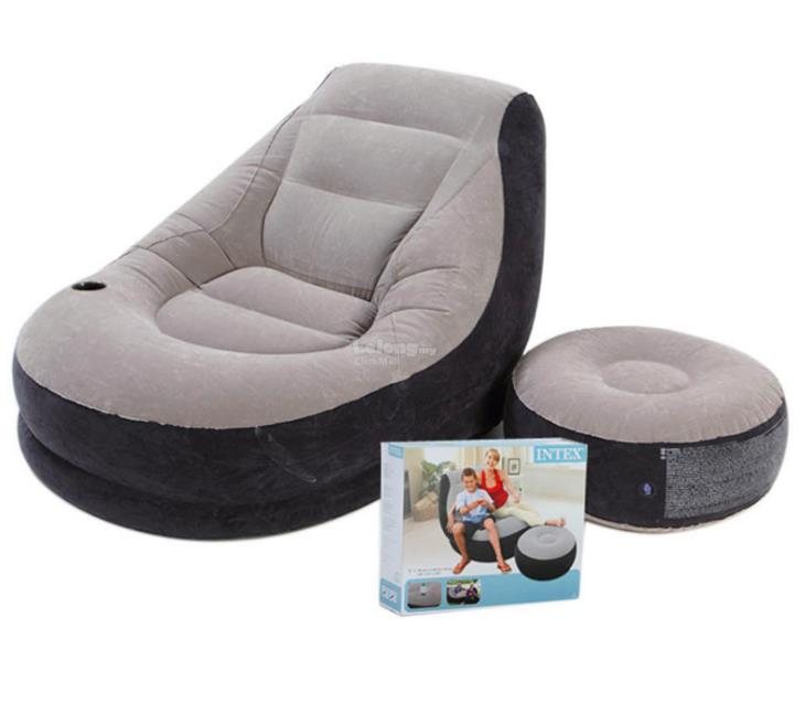 Inflatable Furniture Intex: INTEX 68564 Inflatable Ultra Loung (end 10/13/2017 10:15 PM