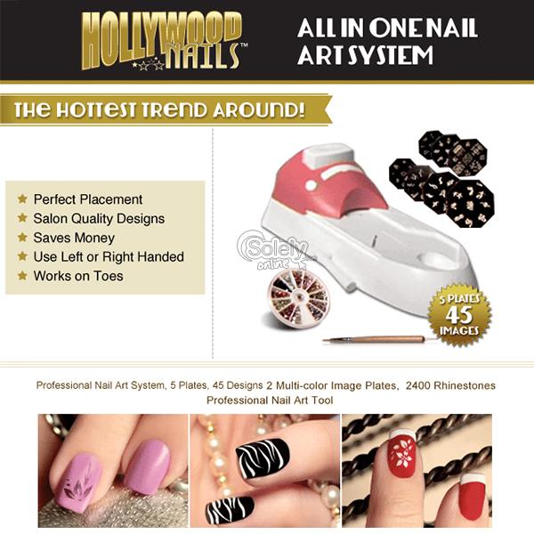 Hollywood nails all in one nail art system best nails art ideas prinsesfo Gallery