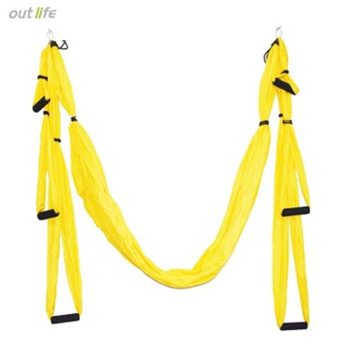 inversion therapy anti gravity aerial yoga hammock  yellow  inversion therapy anti gravity aeri  end 4 13 2020 11 24 pm   rh   lelong   my