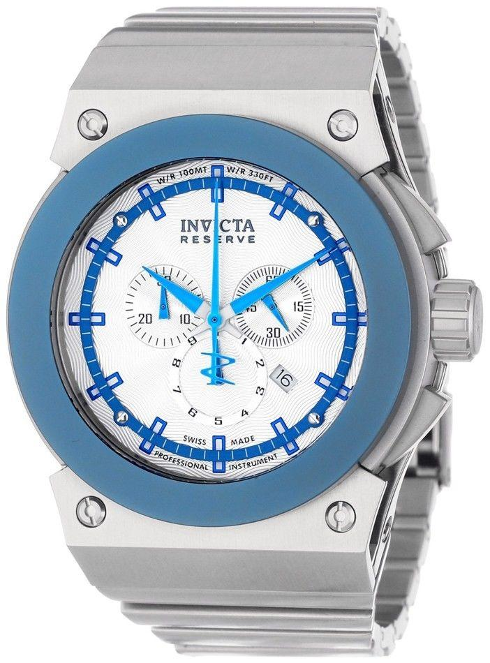 INVICTA Akula Reserve Swiss Made Blue Chronograph Mens Watch IN11593