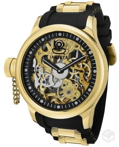 Invicta Russian Diver Skeleton Gold Dial Watch 17265. ‹ ›