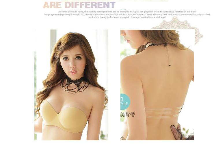 225167286f Invisible Push Up Strapless Bra wt (end 1 10 2020 12 15 PM)