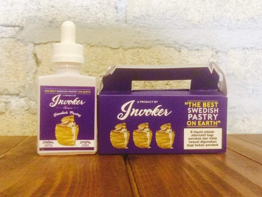 Invoker -Swedish Pastry- (12MG @ 30ML) E Liquid Vape Juice