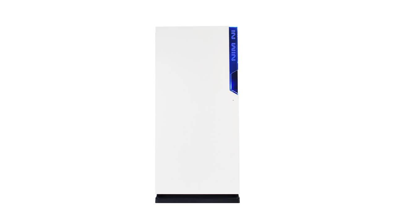 INWIN 101 Tempered Glass Mid Tower Casing (White)