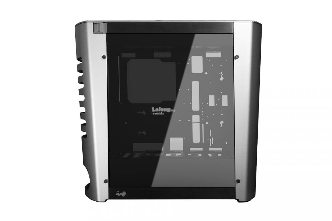 INWIN 915 RGB TG EATX GAMING CHASSIS - SILVER