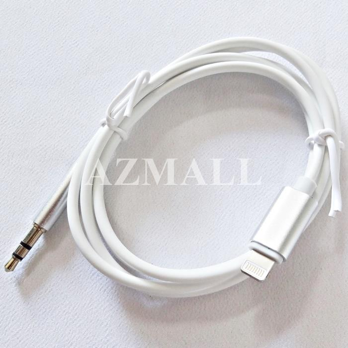 (iOS 12) C&Q Lightning to 3.5mm Audio Jack AUX IN iPhone XS Max XR 8 7