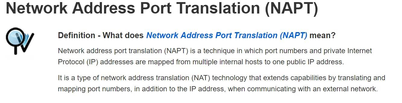 IP-NAPT NAPT License for Multi-Line IP & SIP Terminal