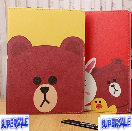 iPad Air 1 Line Cute Casing Case Cover