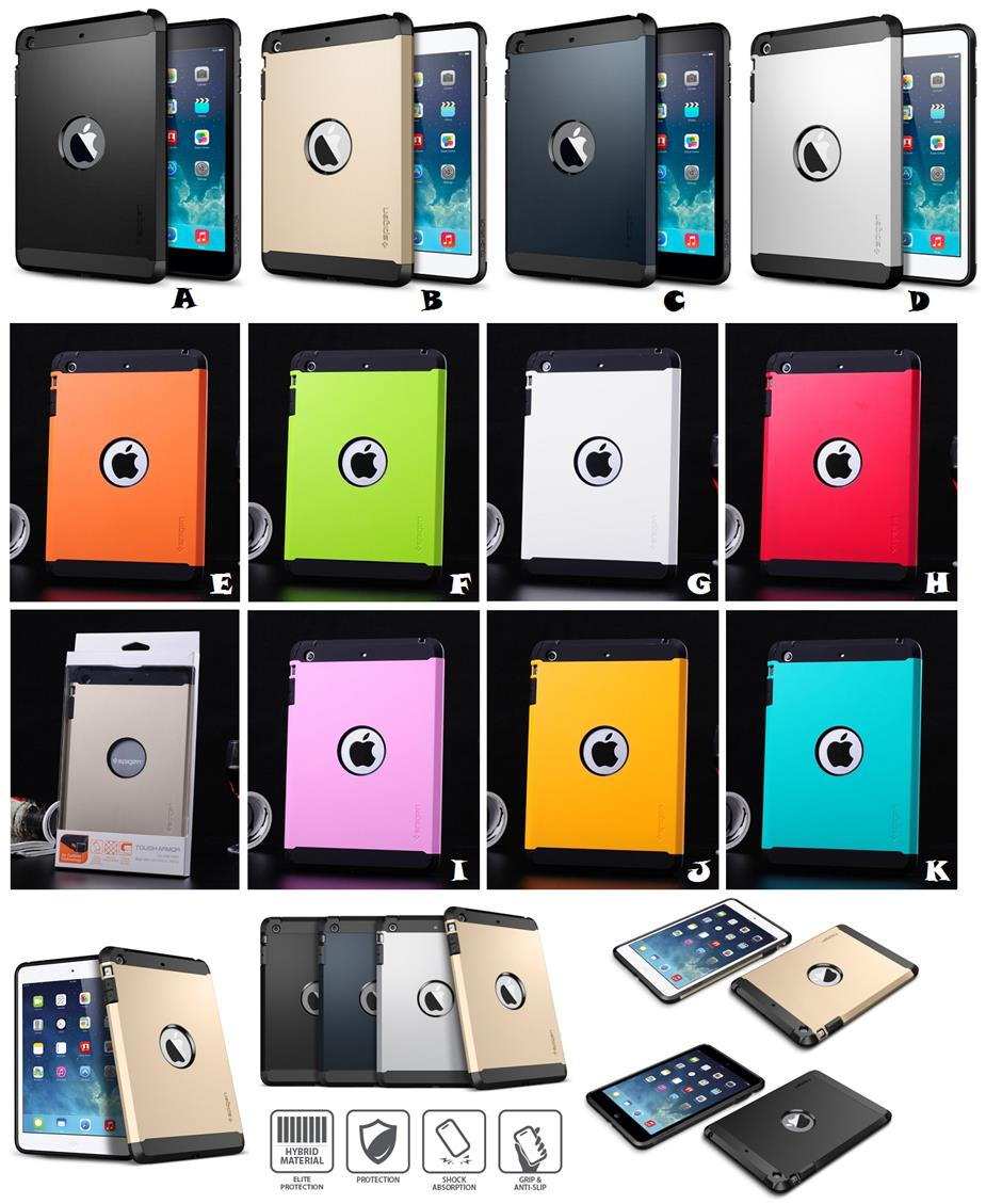 huge discount 822d1 b19c0 iPad Air 1 SPIGEN SGP TOUGH ARMOR Case Cover *FREE SP*