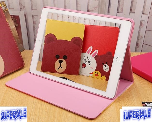 iPad Air 2 Line Cute Casing Case Cover