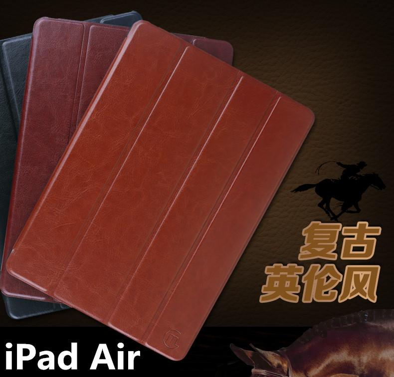 iPad Air 5 Gumi AutoWakeup PU Leather Flip Case Cover + Free Gifts