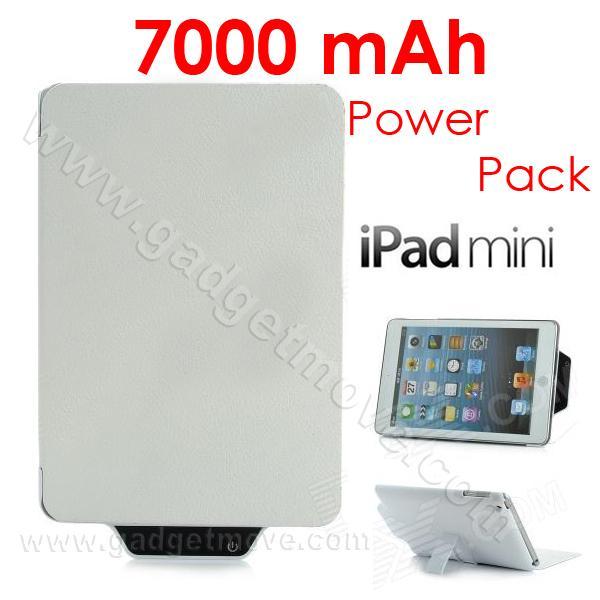 wholesale dealer acce0 d9eb4 iPad Mini 1 2 3 7000mAh External Battery Backup Power Bank Case Cover