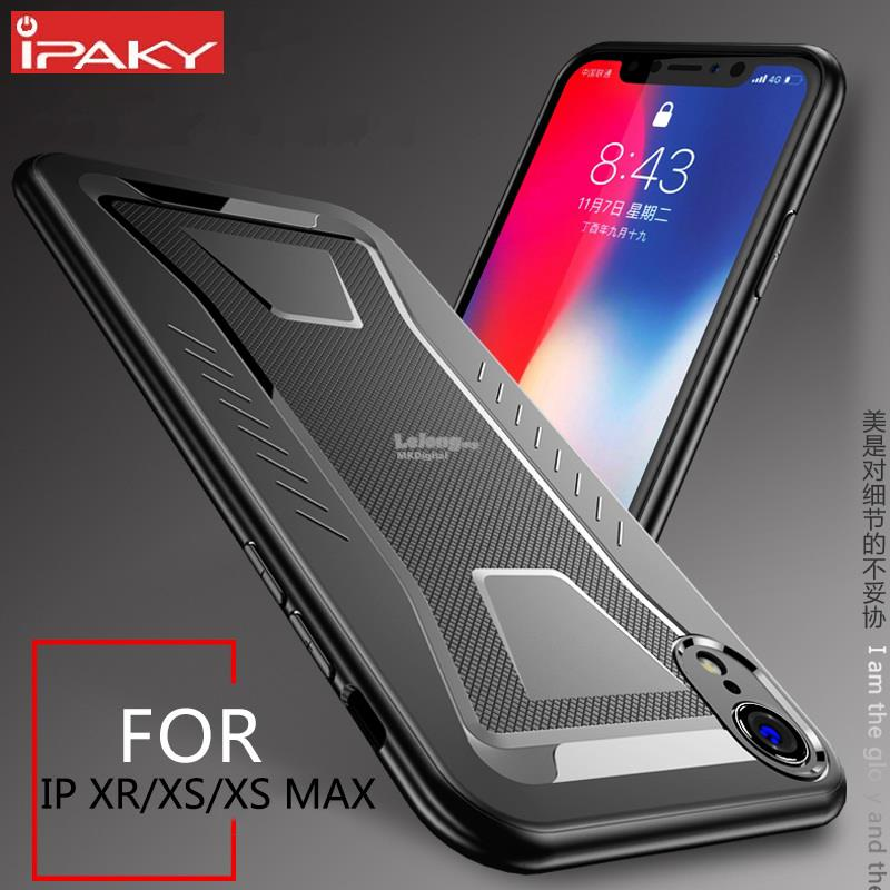 promo code c1d4a 54f6a IPAKY~Apple iPhone XS/X XR XS MAX Case,Armor Soft TPU Silicone Cover