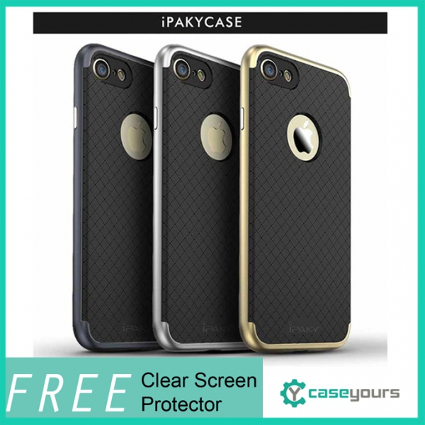 IPAKY Neo Hybrid iPhone 7 & Plus Bumper Case Cover / Hybrid Case for iPhone 7. ‹ ›