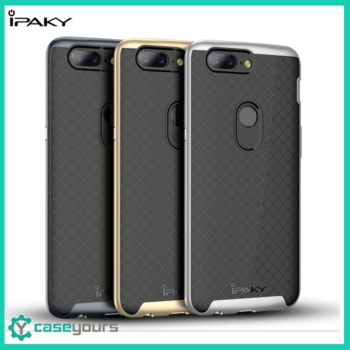 IPAKY Neo Hybrid OnePlus 5 5T Bumper Back Case Cover / Hard Case for OnePlus 5
