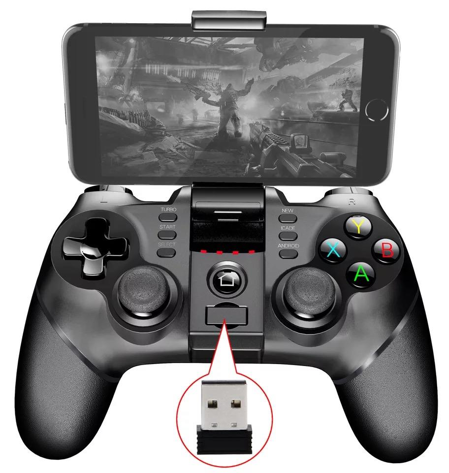 iPega 9076 Bluetooth Gamepad with Bracket 2.4G Wireless Android IOS