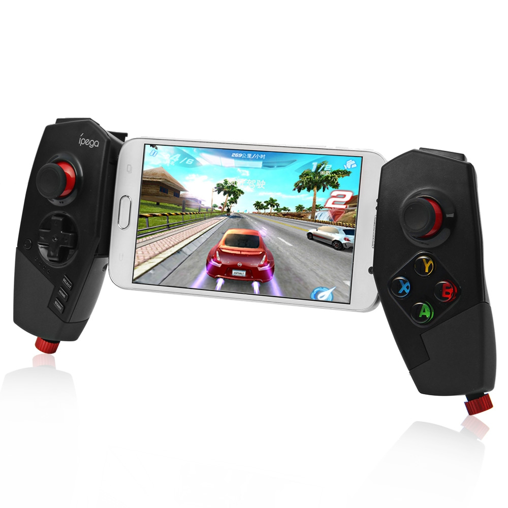 IPEGA PG - 9055 RED SPIDER WIRELESS BLUETOOTH 3.0 TELESCOPIC GAME CONT..