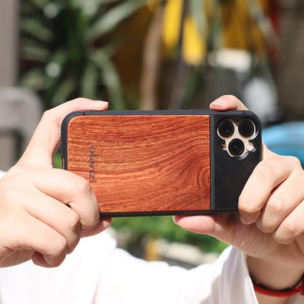 IPhone 11/11Pro/11Pro Max wood case cover