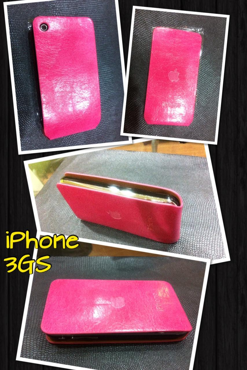 Iphone 3G/3Gs Flip Case Pink.