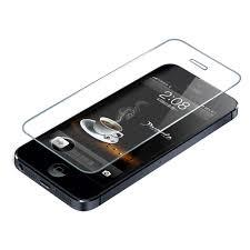 IPhone 4/4S/5/5S Clear Tempered Glass 2 PIECES.